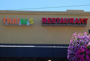 The Thai Hi-5 restaurant