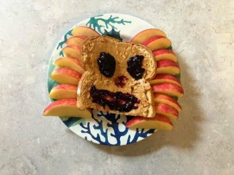 A smiling slice of bread proves that healthy eating doesn