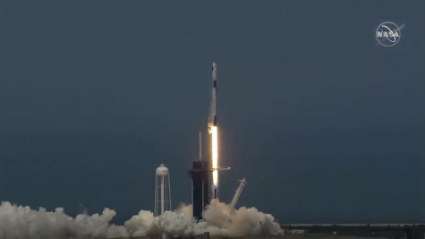 Crew Dragon soars at historic SpaceX launch