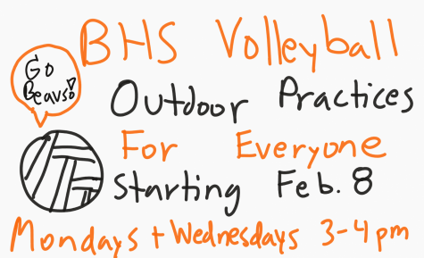 Volleyball practices at Beaverton High School are starting soon. Here