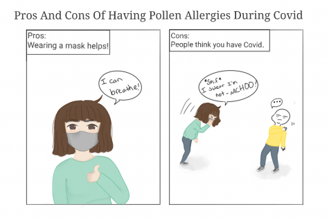 Pros and cons of having pollen allergies during the pandemic